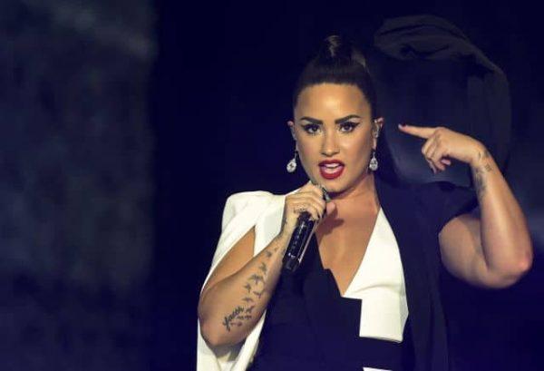 Demi Lovato Bruno Mars Rock Rio