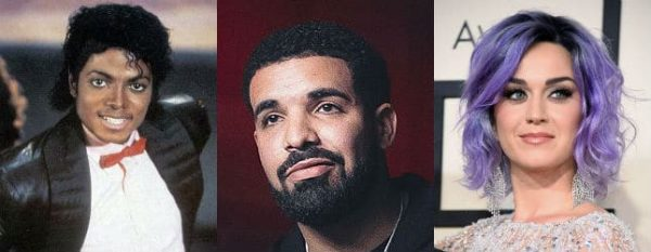Drake Katy Michael Record