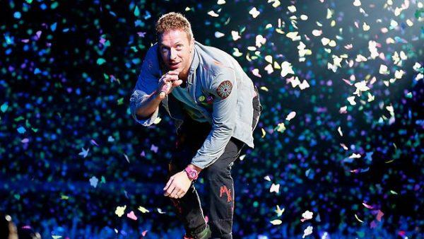 Coldplay – 26.5 mln