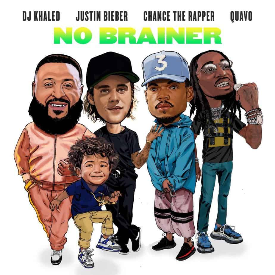 Photo of Anche DJ Khaled e Justin Bieber vogliono un tormentone, ecco il video di No Brainer