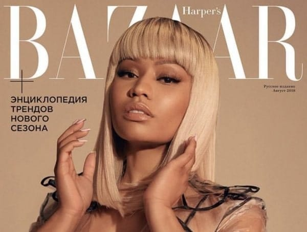 Photo of Nicki Minaj regina di Harper's Bazaar Russia