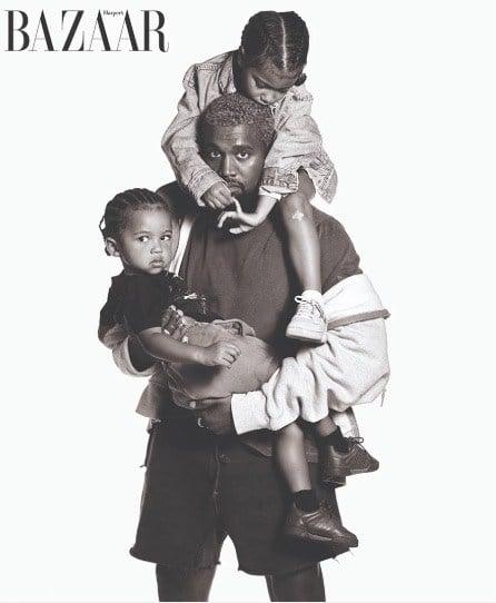 Kanye West Harpers