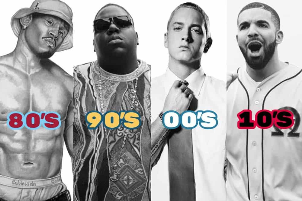 Photo of I migliori rapper decennio per decennio? Eccoli. Presente una sola donna