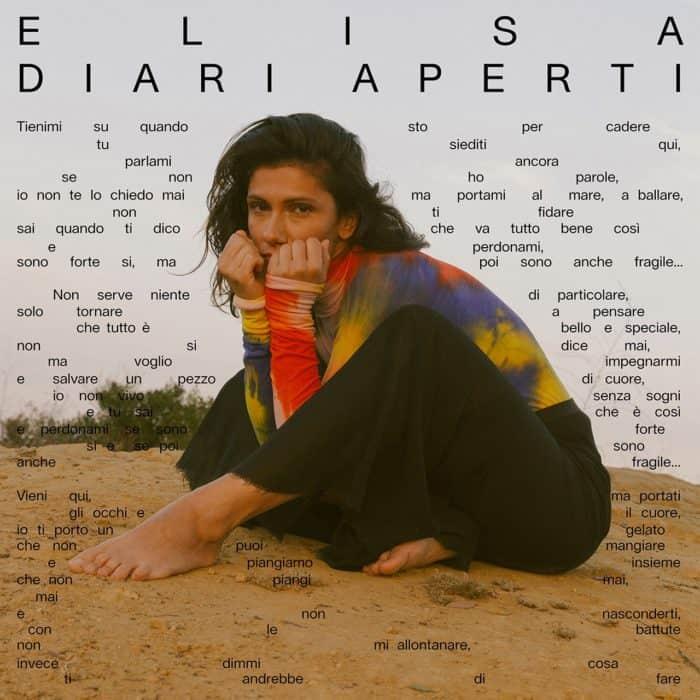 Photo of Elisa: ecco copertina e tracklist del nuovo album Diari Aperti