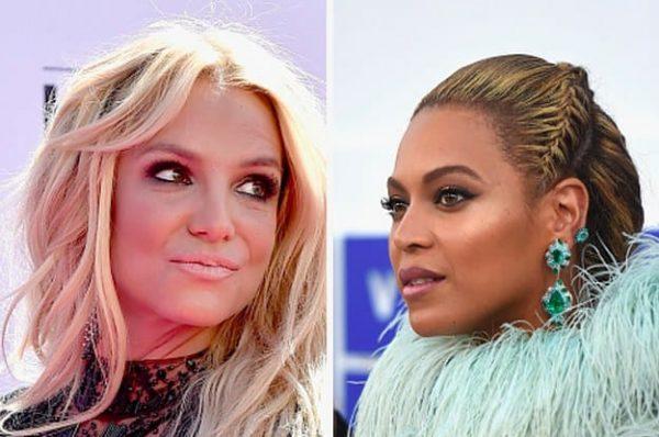 Britney Paura Beyoncé