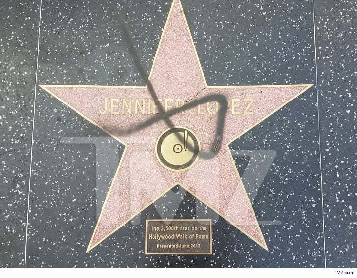 Jennifer Lopez Stella Vandalismo