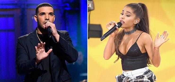 Ariana batte Drake