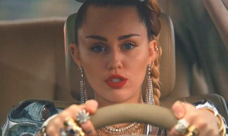 Miley Cyrus Mark Ronson