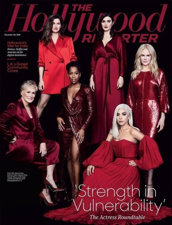 The Hollywood Reporter Lady Gaga