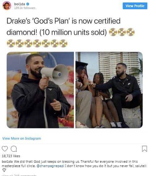 Drake Platino