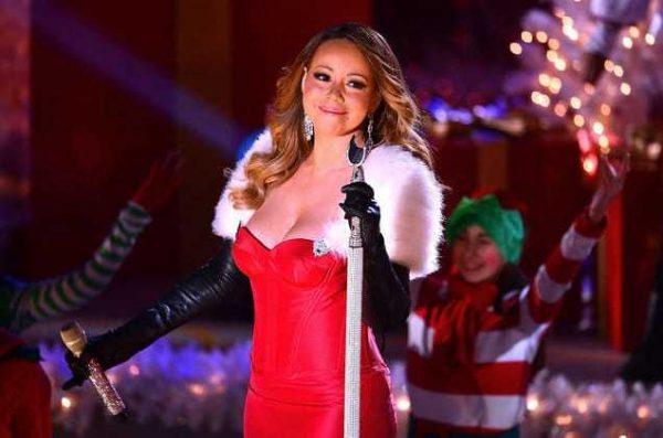 Mariah Carey Red Xmas Live