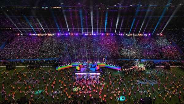 Super Bowl Halftime Usat