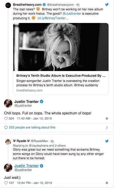 Britney Nuovo Album 2019