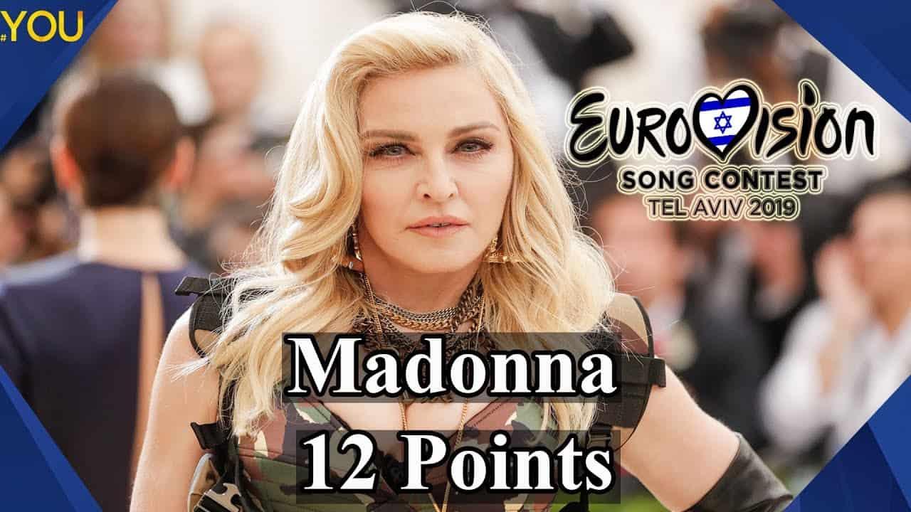 madonna rischio eurovision