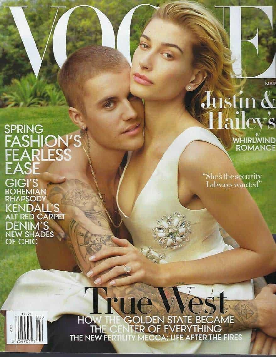Justin Bieber US Vogue