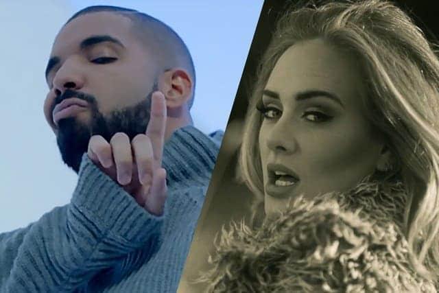 Photo of Adele e Drake hanno fatto festa insieme, ma il rapporto é platonico.