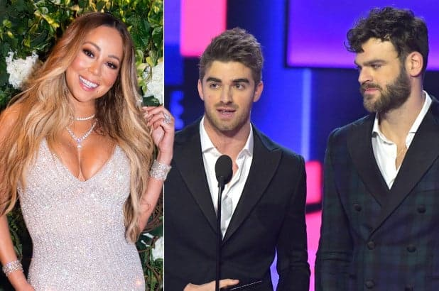 Mariah Carey confonde Chainsmokers