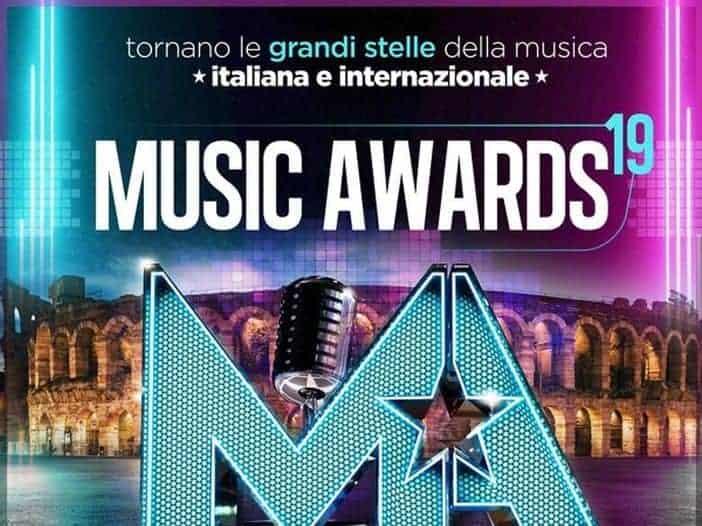 music awards locandina