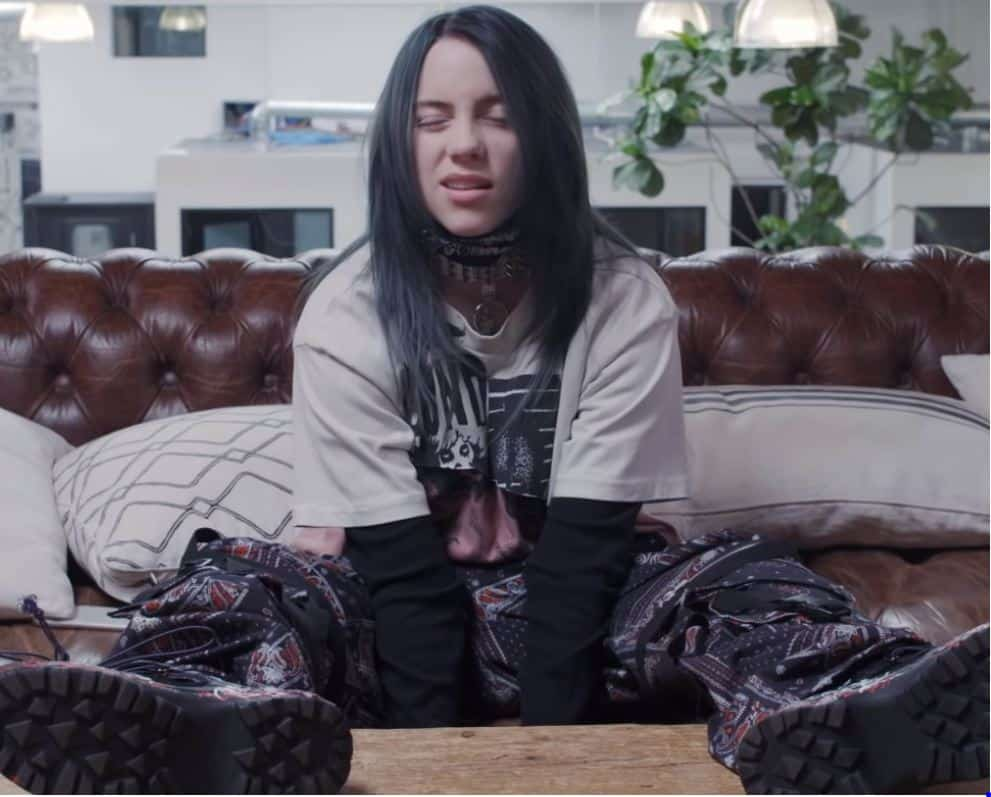 billie eilish intervista