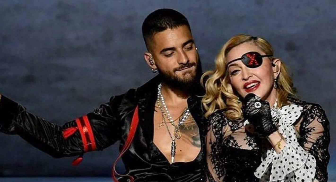 Madonna Maluma Bbmas