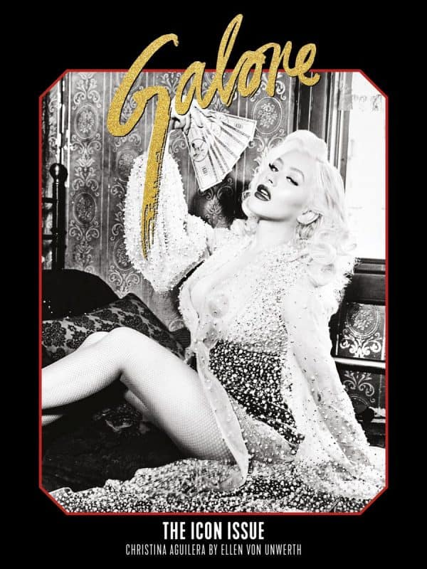 xtina galore cover