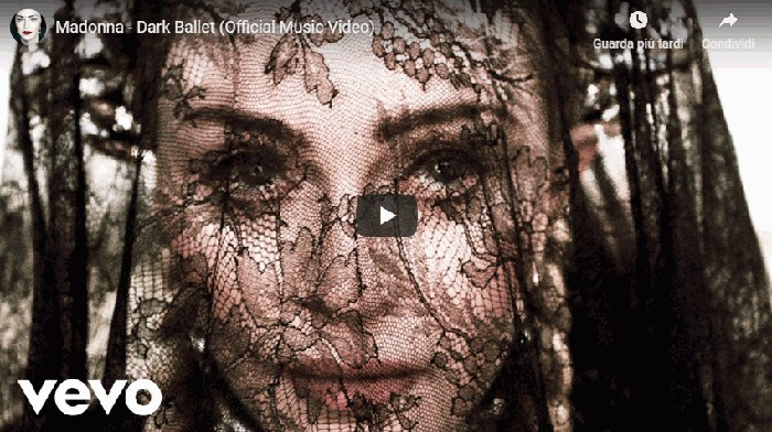 Photo of Madonna: ecco il video cinematografico di Dark Ballet, con traduzione