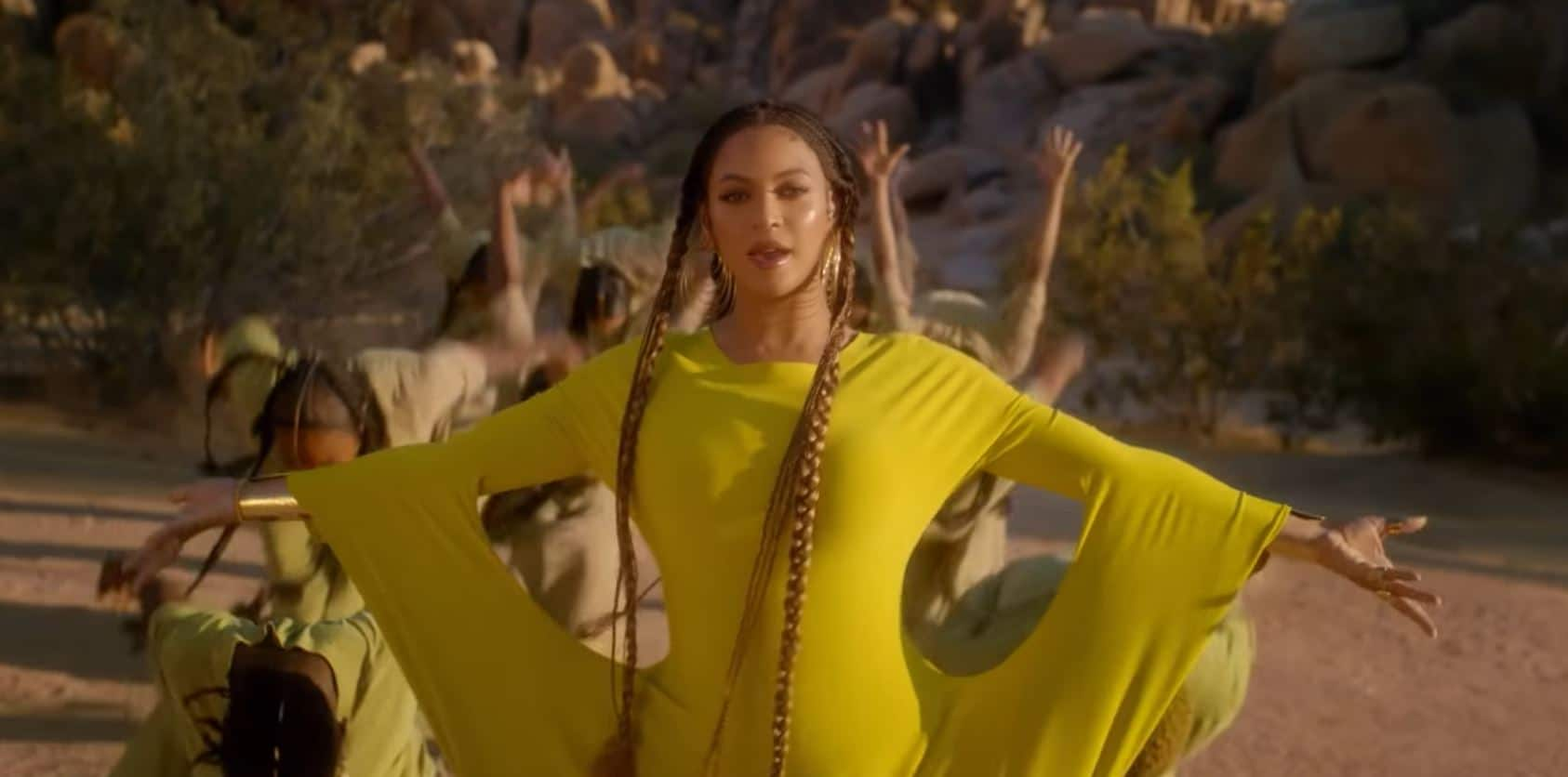 Photo of Beyoncé regina nel nuovo coloratissimo video di Spirit