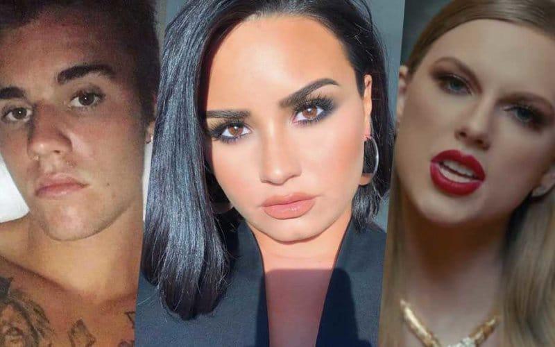 Photo of Taylor Swift contro Scooter Braun, coinvolti Demi Lovato e Justin Bieber
