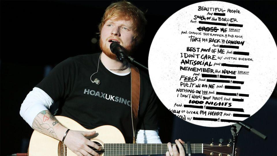 Photo of Ed Sheeran: ascolta il nuovo album No. 6 Collaborations Project