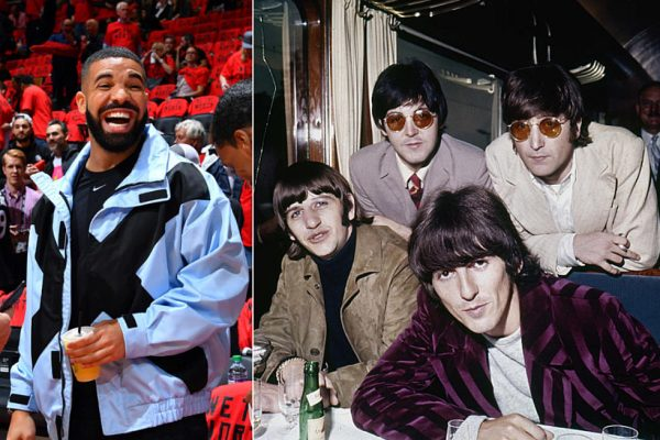 drake vs beatles