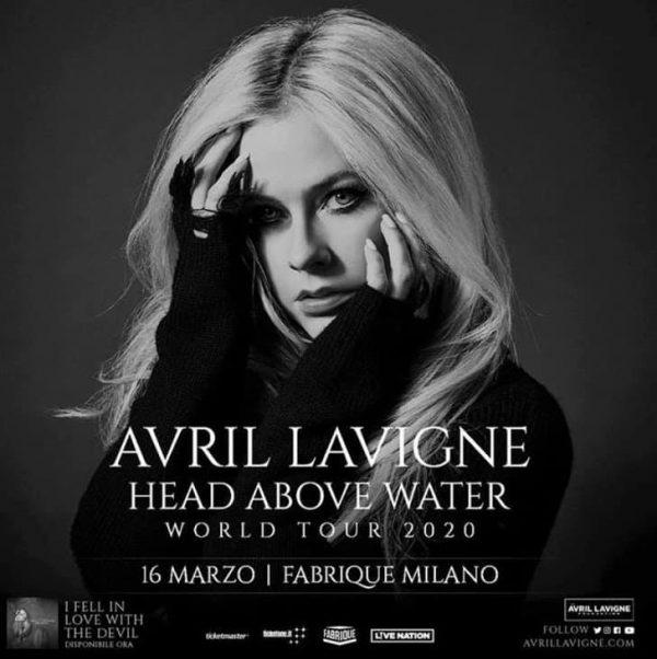 head above water avril