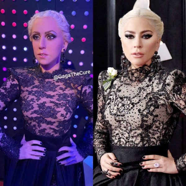 Lady Gaga Statua Cera