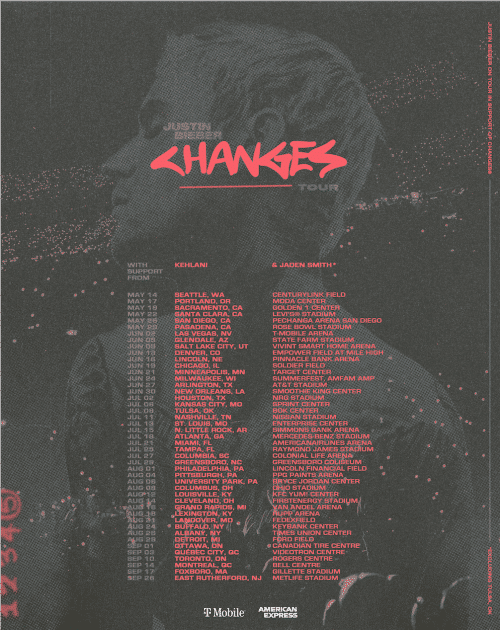 justin tour album