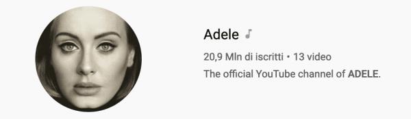 Video Adele Youtube
