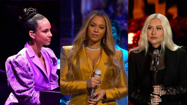 Regine per Kobe Bryant: Beyoncé, Christina Aguilera, Alicia