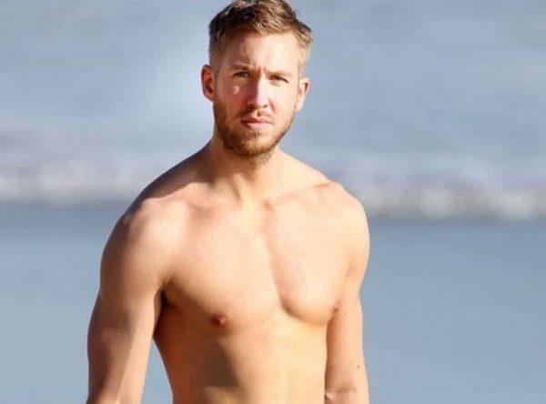 Calvin Harris Nudo