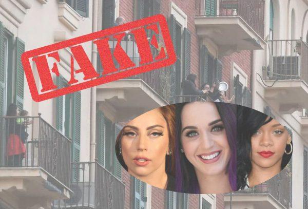italiani balconi canzoni fake
