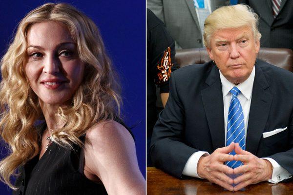 madonna vs trump