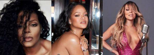 Mariah Janet Rihanna