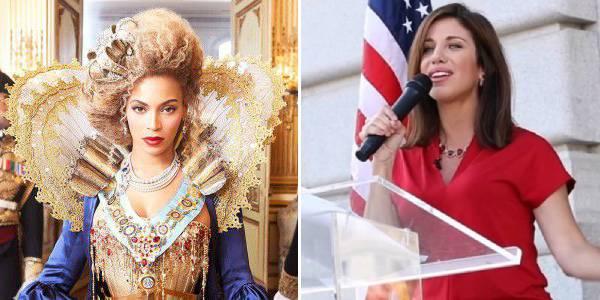Beyonce insultata da repubblicana