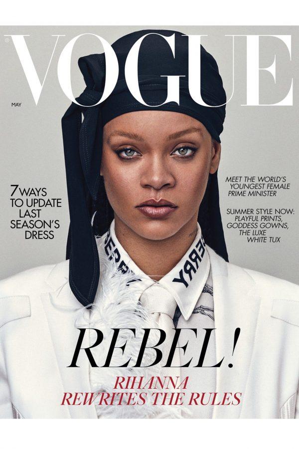 Rihanna é la moda su Vogue UK, foto mozzafiato e figli.