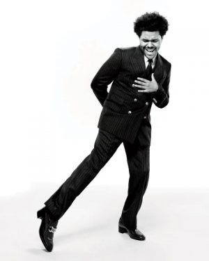 the weeknd variety cover shoot