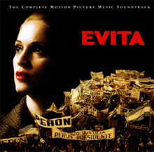 px Evita Motion Picture Soundtrack