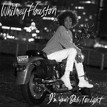px Whitney Houston Im Your Baby Tonight Cover