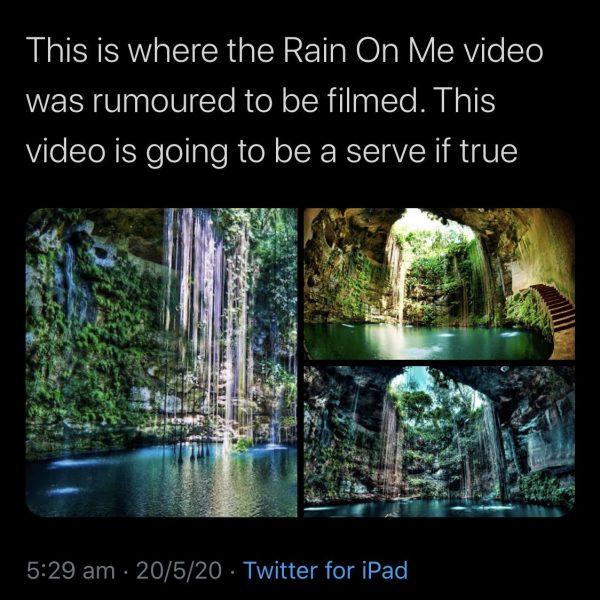 rain on me cenote