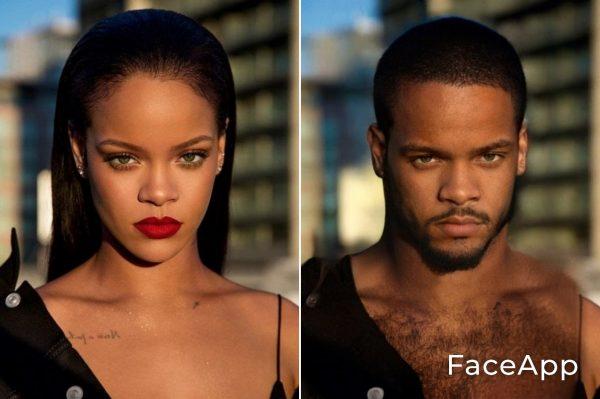 Rihanna Uomo