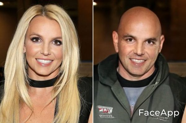 Britney Spears uomo