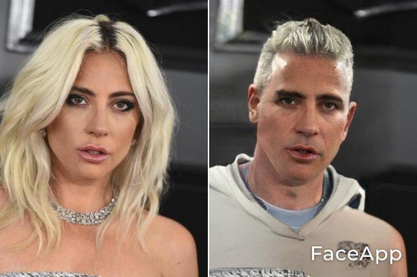 Lady Gaga Uomo