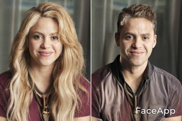 Shakira Uomo