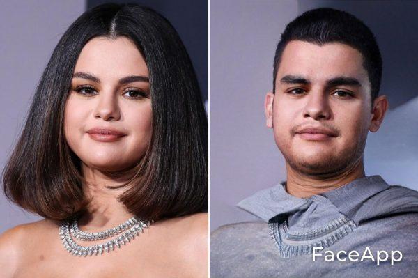Selena Gomez uomo